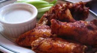 Рецепт крылышек «Баффало», приготовленных в духовом шкафу