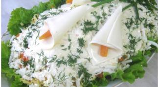 Как приготовить салат «Каллы»