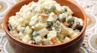 Правда, легенды и заблуждения про калорийность салата оливье