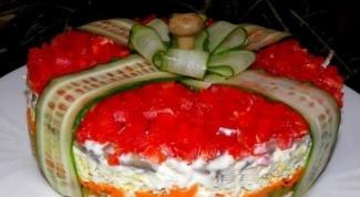 Как приготовить салат «Подарок»