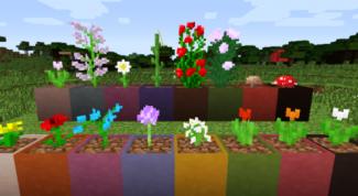 Как в Майнкрафте сделать цветочный горшок