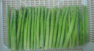 How to freeze asparagus for winter