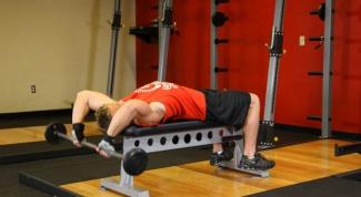 Пуловер - упражнение для развития мышц груди
