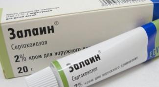 Противогрибковый препарат Залаин: инструкция по применению