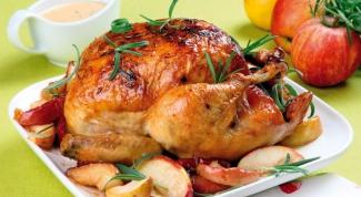 Как запекать в духовке целую курицу
