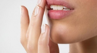 The cold sore on the lip how to treat