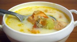 Суп из семги: рецепт быстрого приготовления