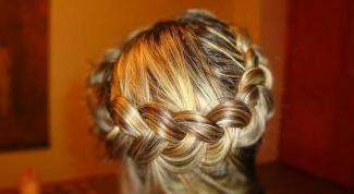 Как плести косу наизнанку