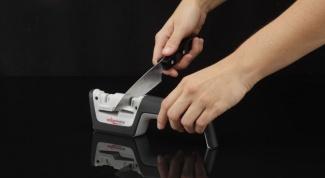 Точилка для ножей - незаменимый инструмент на каждой кухне