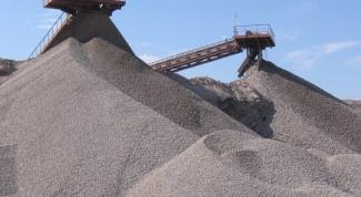 Гравийно-песчаная смесь: характеристики и виды