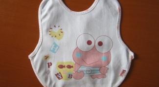Как сделать нагрудник для малыша своими руками