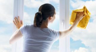 Чем мыть пластиковые окна, чтобы не было разводов