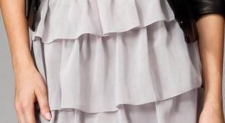 Как сшить юбку с воланами своими руками