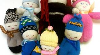 Куклы из носков: делаем вместе с детьми