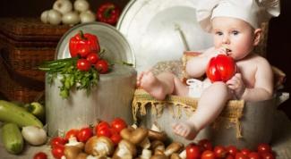 Детские салаты - основа меню для ребенка