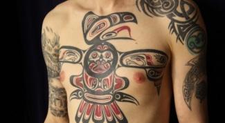 Самые эффектные места для татуировок