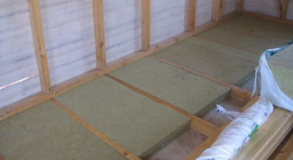 How to make a wooden floor on joists in the apartment