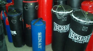 How to make a punching bag with their hands