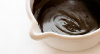 Шоколадный ганаш: рецепт под мастику