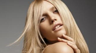 Как можно  осветлить волосы сметаной