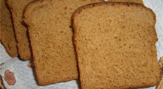 Recipe black bread bread machine - quick and tasty