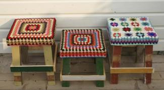 Как сделать сидушки на стулья своими руками