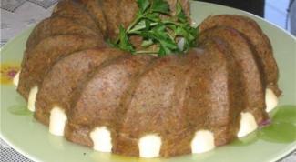 Суфле из печени в духовке: рецепты