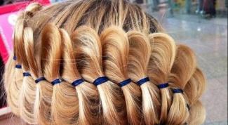 Как заплести французскую косу с лентами