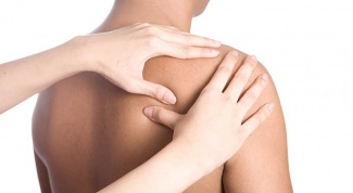 How is therapeutic massage of the back and neck