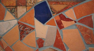 Как самому сделать мозаику из битой плитки