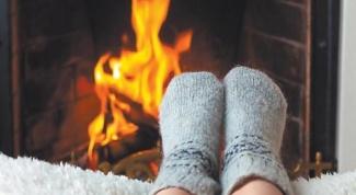 Как отогревать ноги, если нарушено кровообращение