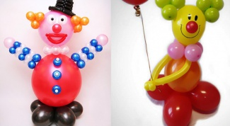 How to make a clown out of balloons with their hands