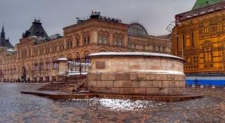 Лобное место - часть комплекса Красной площади