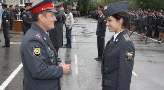Какие сегодня есть звания в полиции России