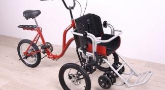 Коляска-велосипед - удобно и практично