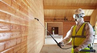 Огнебиозащита древесины и особенности ее нанесения