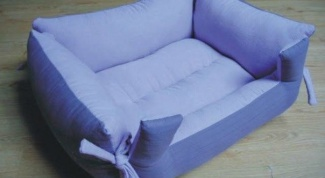How to sew a couch for the cat with your hands