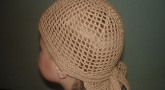 How to tie baseball cap for boy crochet?