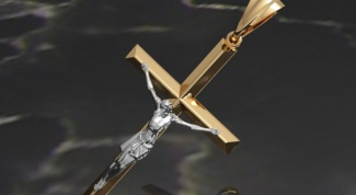 Why not carry the cross and icon on the same chain