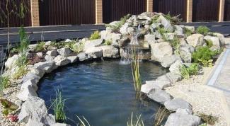 Как укрепить берега искусственного пруда