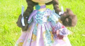 Как сделать куклу-тыквоголовку своими руками