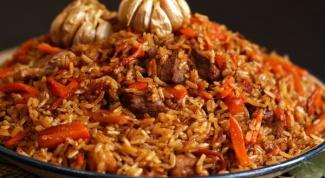 Как приготовить узбекский плов из свинины?