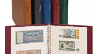 How to make an album for banknotes with his own hands
