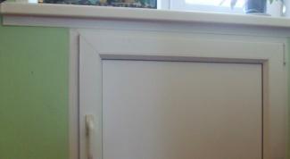 Как сделать холодильник под окном