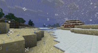 Как изменить погоду в Minecraft
