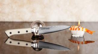 Как выбрать овощной нож