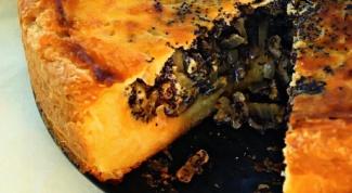 Как приготовить пирог с луком и маком