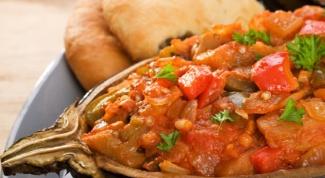 Как приготовить баклажаны по-болгарски