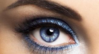 Макияж для голубых глаз - простые советы