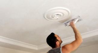 Как отремонтировать потолок из гипсокартона